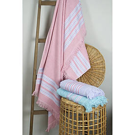 Полотенце Barine Pestemal - Escape 100*160 Apricot pink