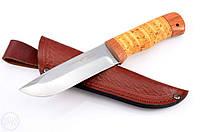 Нож охотничий 2253 BLP. Рукоять - береста,,охотничьи ножи,товары для рыбалки и охоты,оригинал