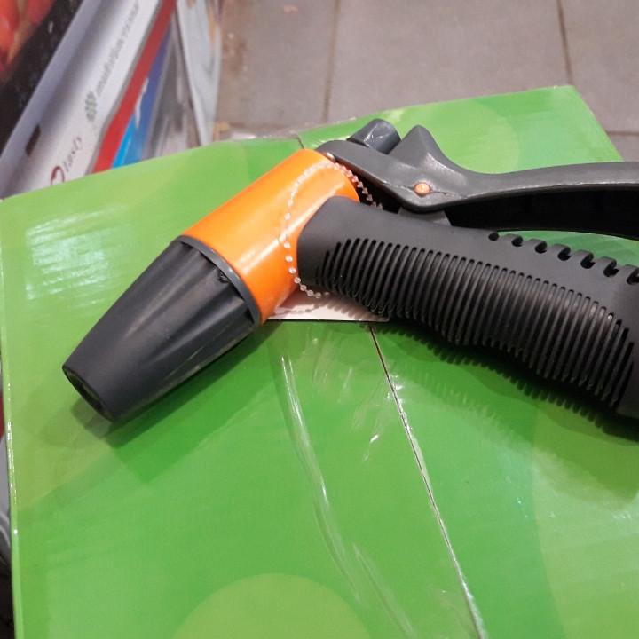 Пистолет садовый YM7208 пластик (резиновая ручка)