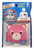 Блокатор Air Doctor детский бейдж мишка