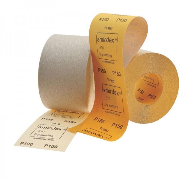 Наждачная бумага в рулоне SMIRDEX Р-100 (50 м)