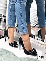 Женские туфли лодочки черные Bantik 2683