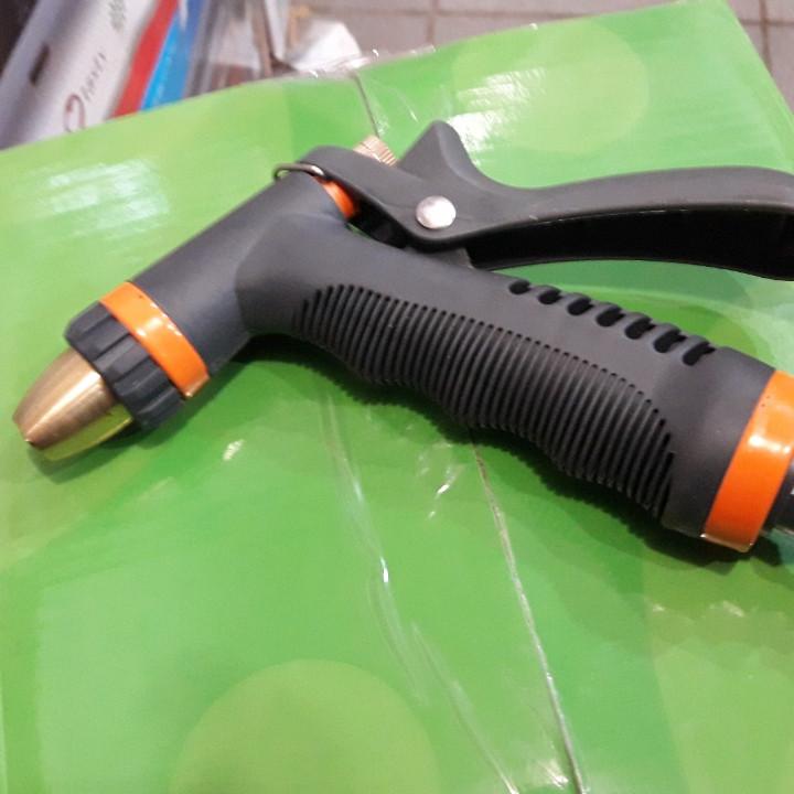 Пістолет поливальний YM7206 метал (гумова ручка)