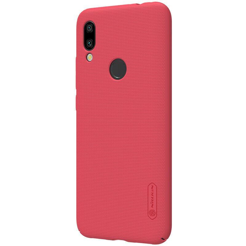 Nillkin Xiaomi Redmi 7 Super Frosted Shield Red Чехол Накладка Бампер