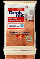 Denkmit универсальные салфетки для деревянного пола Feuchte Bodentücher Parkett + Laminat