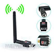 Качество! Скоростной USB WIFI 150M 802.11n мини Wi-fi адаптер с антенной, фото 3