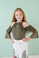 3a934394a36 Стильная летняя блузка на девочку от 6 до 14 лет. Производство Турция