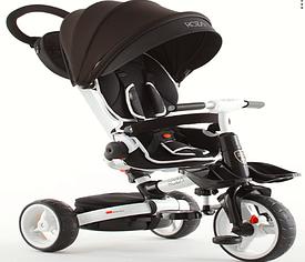 Детский велосипед-коляска  6 в 1 Crosser T-600 Rosa  черный ***