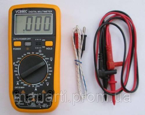 Мультиметр универсальный TS VS 890 C, фото 2