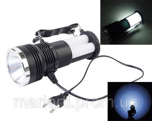 Многофункциональный фонарь аккумуляторный с солнечной панелью YJ-2881T, Скидки, фото 2