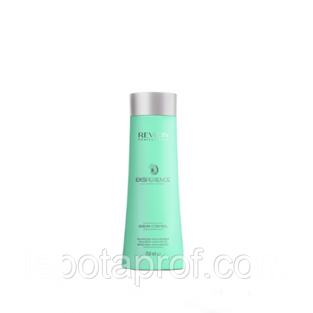 Регулирующий шампунь для кожи головы,Revlon Eksperience Sebum Control  Balancing Hair Cleanser  250мл