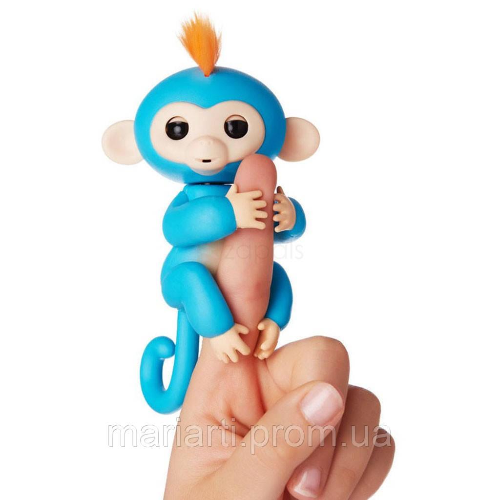Интерактивная игрушка - обезьянка Fingerlings Monkey, Полный набор функций! Скидки