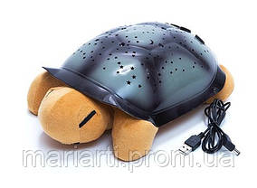 Ночник «Черепашка», проектор звездного неба Twilight turtle +USB шнур!, фото 3