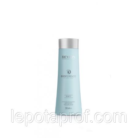 Очищающий шампунь для кожи головы, Revlon Eksperience™ Purity  Purifying Hair Cleanser   250 мл.