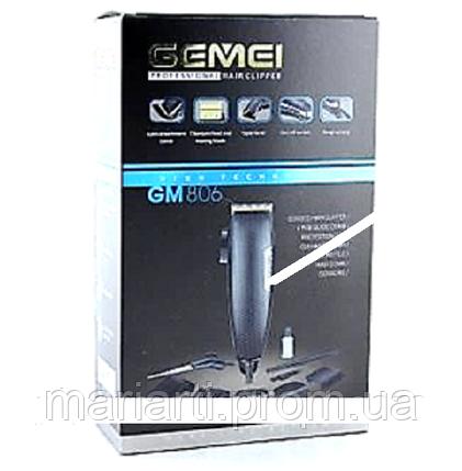 Машинка для стрижки волос GEMEI GM 806, фото 2