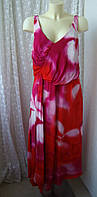 Платье женское летнее шикарное макси бренд Madeleine р.48