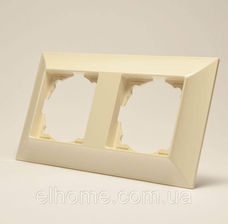 Рамка чотиримісна, Gunsan Neoline   крем