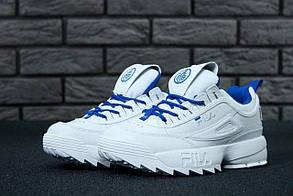 Жіночі Кросівки Fila Disraptor 2 White Blue