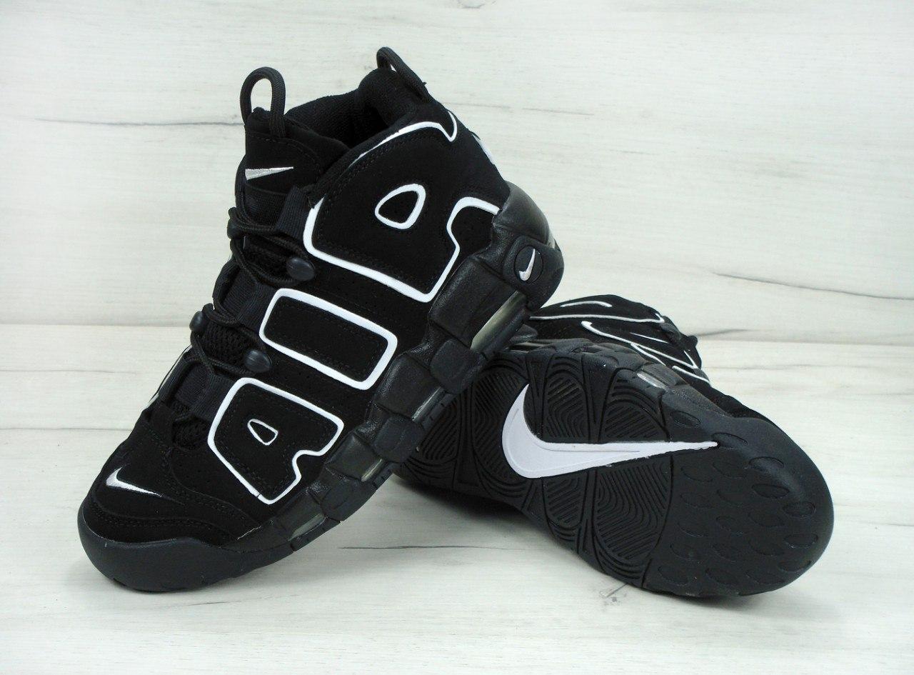 Мужские кроссовки Nike Air Max Uptempo  Black/white
