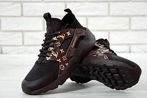 Женские кроссовки Nike air huarache Black  LV Supreme 37