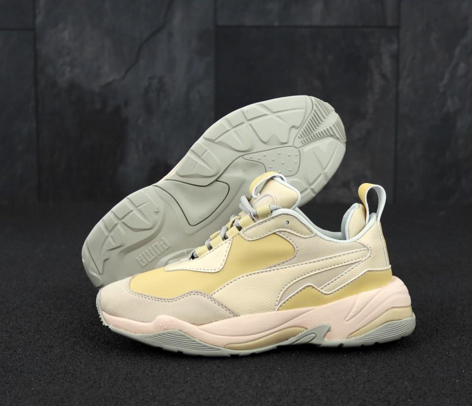 Жіночі кросівки PUMA DESERT THUNDER (NATURAL VACHETTA / CREAM TAN)