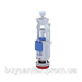 АНИ Арматура (WC7050C) двухуровневая, регулируемая без клапана, хром. кнопка