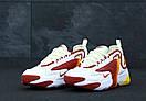 Мужские Кроссовки Nike Zoom 2K, White Orange Red, фото 2