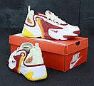 Чоловічі Кросівки Nike Zoom 2K, White Orange Red, фото 5