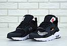 Женские кроссовки Nike Huarache black white x Off-white, фото 3