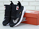 Женские кроссовки Nike Huarache black white x Off-white, фото 4
