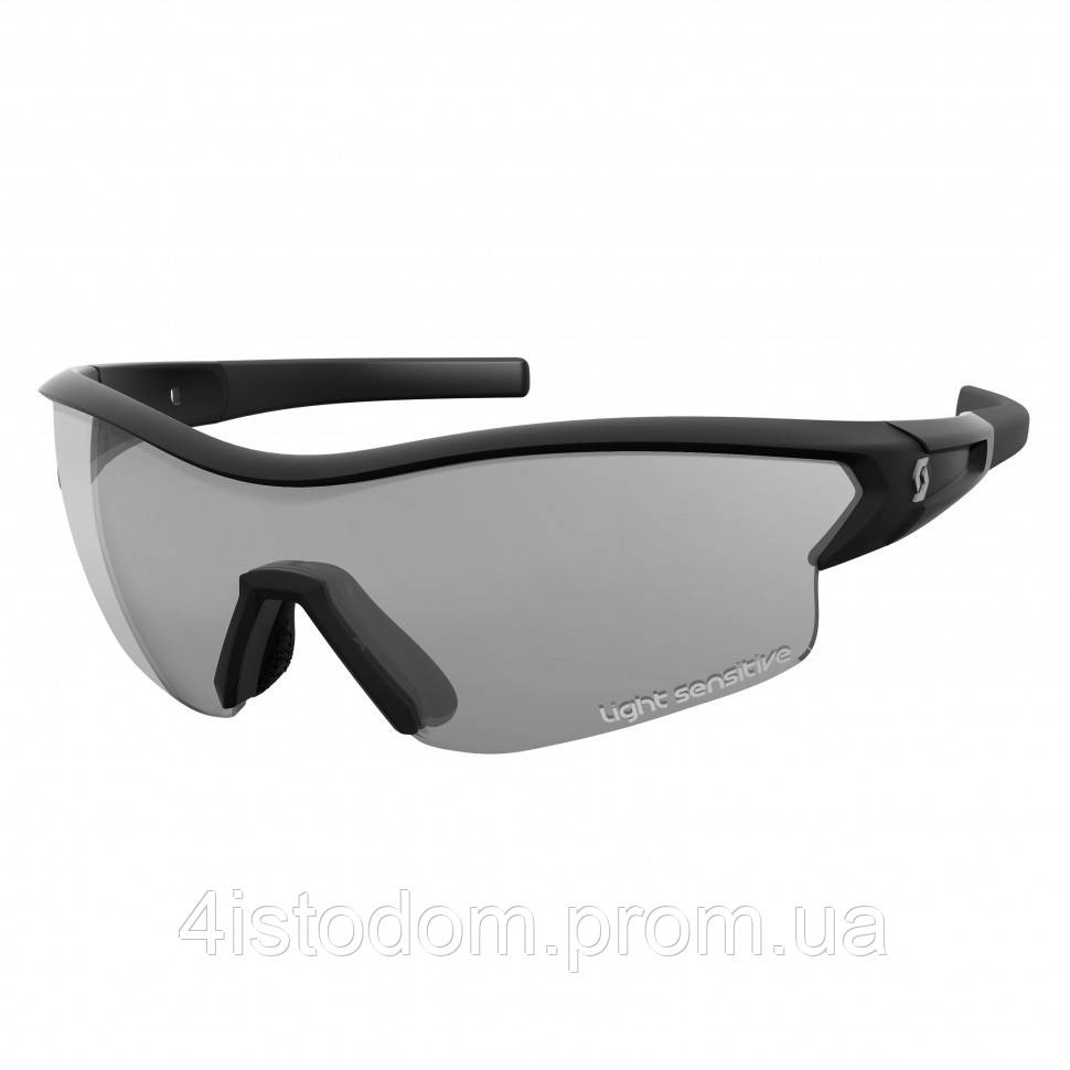 Мультифункциональные очки SCOTT Leap LS black glossy grey light sensitive + clear