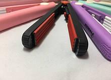 Міні гофре для волосся ЧОРНИЙ колір 19 см довжина (дорожній)