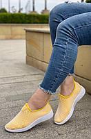 Кроссовки женские 8 пар в ящике желтого цвета 36-41, фото 2