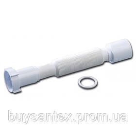 """Krono Гофра (ГН060) с накидной гайкой 11/2"""" длина 600 мм"""