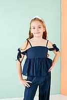 4a78d92d597 Летняя блузка на девочку от 6 до 14 лет. Коллекция 2019.