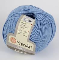Yarnart  Jeans голубой № 15
