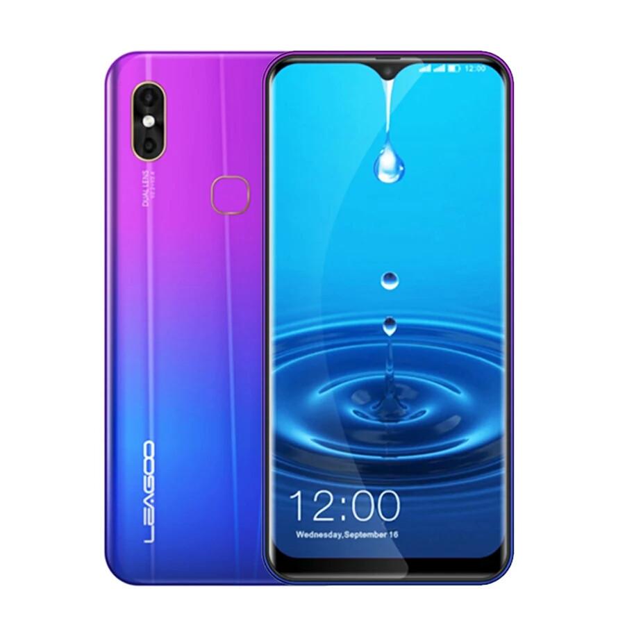 "Смартфон Leagoo M13 Gradient purple 4G 6.1"" 4/32Gb And 9 в наличии+чехол НОВИНКА"