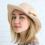 Летняя соломенная шляпа с цветами, фото 5