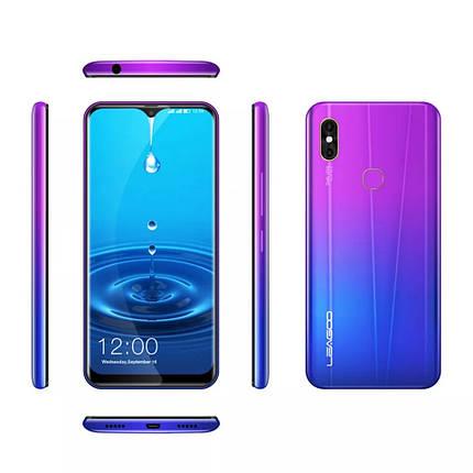 "Смартфон Leagoo M13 Gradient purple 4G 6.1"" 4/32Gb And 9 в наличии+чехол НОВИНКА, фото 2"