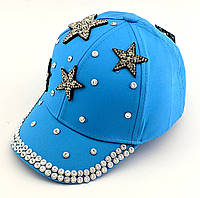 Детская бейсболка кепка с 46 по 52 размер детские бейсболки головные уборы кепки для девочки летняя, фото 1