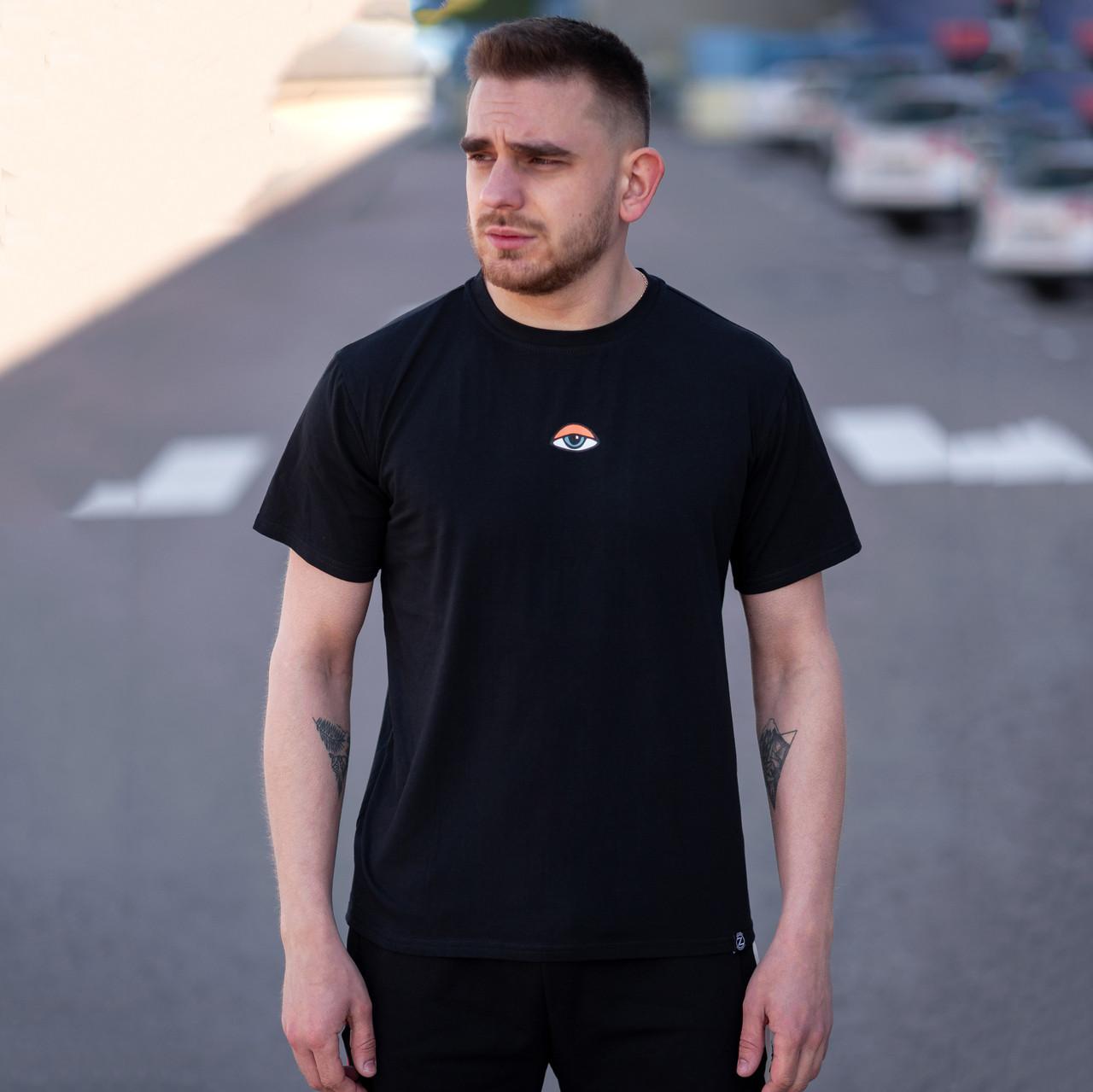 Футболка мужская BeZet i see черная