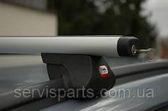 Автобагажник на крышу с рейлингами Amos Alfa Aero (Амос АлБагажник на гладкую крышу фа)