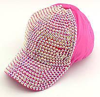 Детская бейсболка кепка с 52 по 56 размер детские бейсболки в стразы кепки для девочки летняя