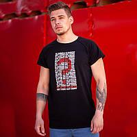 Футболка мужская BeZet 404 черная, фото 1