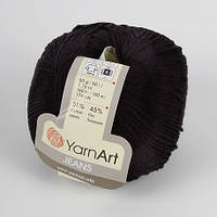 Yarnart  Jeans черный № 53
