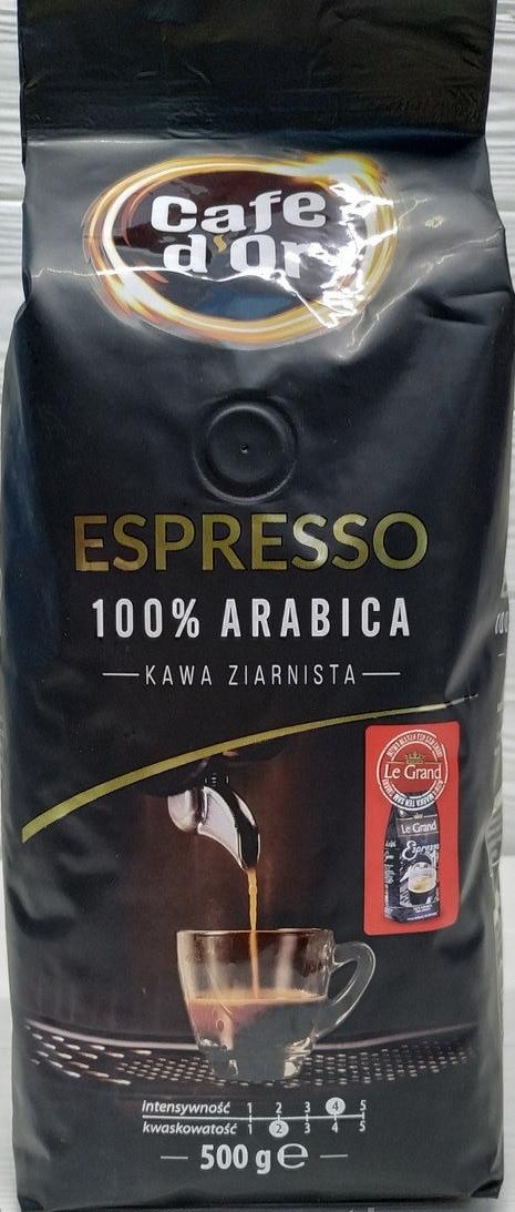 Кофе в зернах Cafe d'Or Espresso 500г Польша