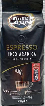 Кофе в зернах Cafe d'Or Espresso 500г Польша, фото 2