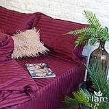 Комплект постельного белья страйп сатин Тиара евро размер 79, фото 2