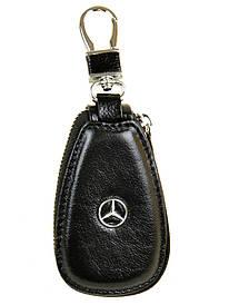 Кошелек Ключница Авто кожа F633 Mercedes black