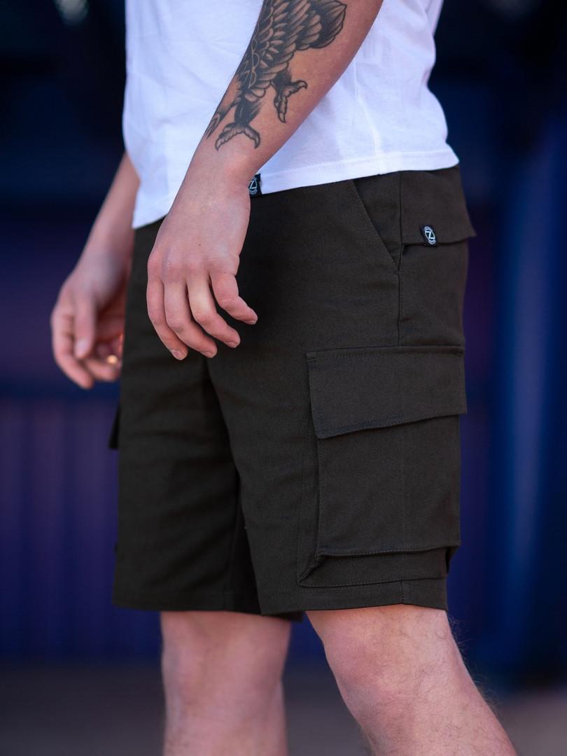 Мужские карго шорты BEZET Battle khaki'19, мужские карго шорты хаки, хаки карго шорты